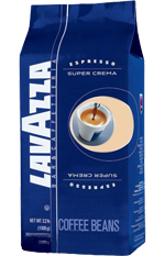 "Кофе ""Lavazza"" Super Crema 1 кг (зерно)"